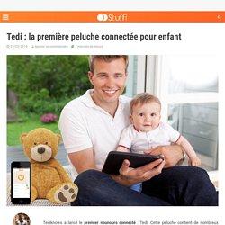 Tedi : la première peluche connectée pour enfant