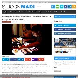 Première table connectée : le dîner du futur est pour maintenant