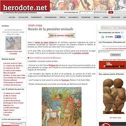 Succès de la première croisade (1096-1099)