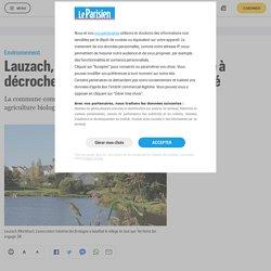 LE PARISIEN 26/03/21 Lauzach, première commune bretonne à décrocher le label Territoire bio engagé