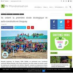 Ils créent la première école écologique et auto-construite en Uruguay
