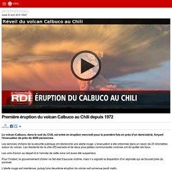 Première éruption du volcan Calbuco au Chili depuis 1972