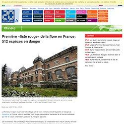 Première «liste rouge» de la flore en France: 512 espèces en danger