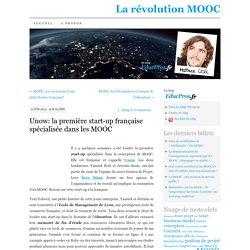 Unow: la première start-up française spécialisée dans les MOOC