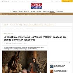 Première étude génomique des populations vikings