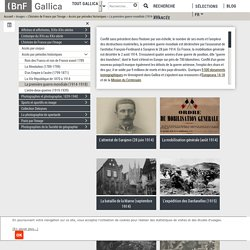Gallica :La première guerre mondiale (1914-1918)