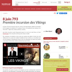 8 juin 793 - Première incursion des Vikings