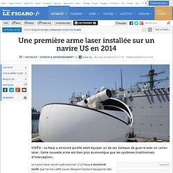 Une première arme laser installée sur un navire US en 2014