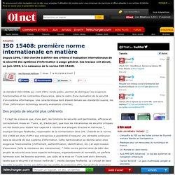 ISO 15408: première norme internationale en matière