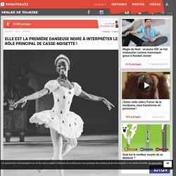Elle est la première danseuse noire à interpréter le rôle principal de Casse-Noisette !