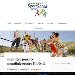 Première journée mondiale contre l'obésité – Pôle Sport Santé Bien-Être