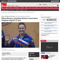 Elena Serova, première femme russe dans l'espace depuis 17 ans