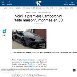 Voici la première Lamborghini « faite maison », imprimée en 3D