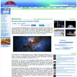 Première lumière pour la bande 5 d'ALMA