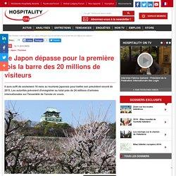 Le Japon dépasse pour la première fois la barre des 20 millions de visiteurs