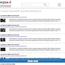 fonds première guerre mondiale Archives - ECPAD