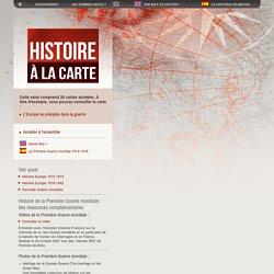 La Première Guerre mondiale : Cartes animées, bataille de la Marne, Ypres, Verdun, la Somme, Caporetto