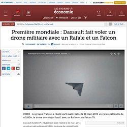 Première mondiale : Dassault fait voler un drone militaire avec un Rafale et un Falcon