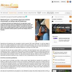 Optimod'Lyon : la première appli de mobilité multimode, en temps réel et prédictive