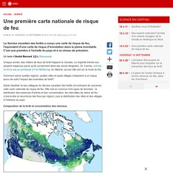 Une première carte nationale de risque de feu