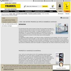 L'inox: une matière première qui offre de nombreux avantages - FRANKEL France