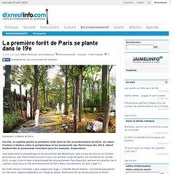 La première forêt de Paris se plante dans le 19e