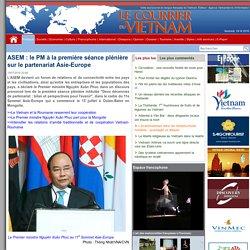 ASEM : le PM à la première séance plénière sur le partenariat Asie-Europe