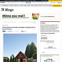Une première mini-maison portable va bientôt voir le jour en France