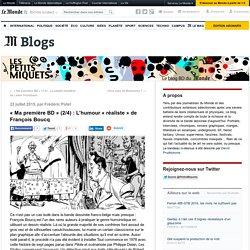 «Ma première BD» (2/4): L'humour «réaliste» de François Boucq