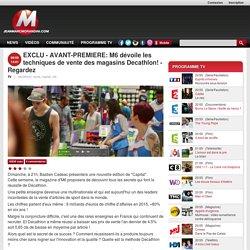 EXCLU - AVANT-PREMIERE: M6 dévoile les techniques de vente des magasins Decathlon!