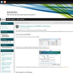 Première utilisation de XAMPP sur Windows » INFOTUTO