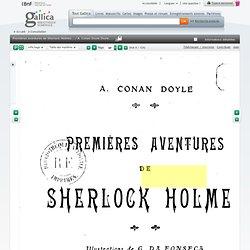 Premières aventures de Sherlock Holmes... / A. Conan Doyle