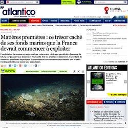 Matières premières : ce trésor caché de ses fonds marins que la France devrait commencer à exploiter