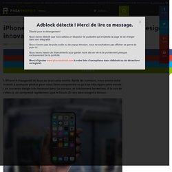 iPhone 8 : premières photos de son nouveau design innovant et borderless