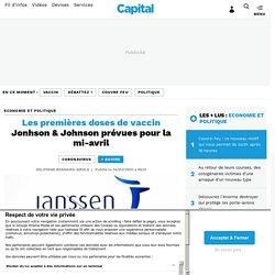 Les premières doses de vaccin Jonhson & Johnson prévues pour la mi-avril...