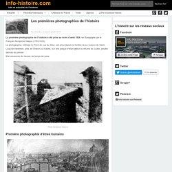 Les premières photographies de l'histoire