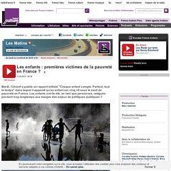 Les enfants : premières victimes de la pauvreté en France