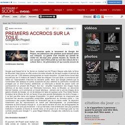 PREMIERS ACCROCS SUR LA TOILE - Actualité Arts