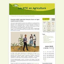 Premiers MOOC agricoles français (Cours en ligne massifs ouvert à tous).