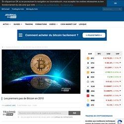 Les premiers pas de Bitcoin en 2010