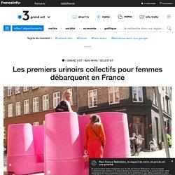 Les premiers urinoirs collectifs pour femmes débarquent en France - France 3 Grand Est