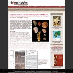 Les premiers colons nord-américains à Gault il y a plus de 16 000 ans
