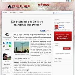 Les premiers pas de votre entreprise sur Twitter
