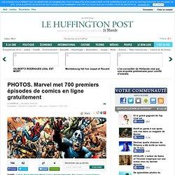 Marvel met 700 premiers épisodes de comics en ligne gratuitement