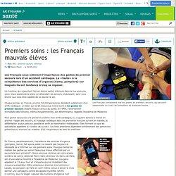 Premiers soins : les Français mauvais élèves