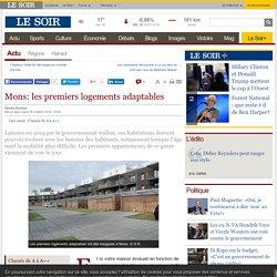 Mons: les premiers logements adaptables - Mons (Belgique) - 18/10/16