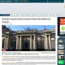 Premiers recours contre le décret fichant 60 millions de Français