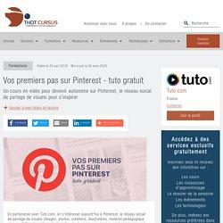 Vos premiers pas sur Pinterest - tuto gratuit - Thot Cursus