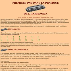 Premiers pas dans la pratique de l'harmonica