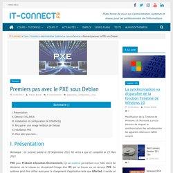 Premiers pas avec le PXE sous Debian